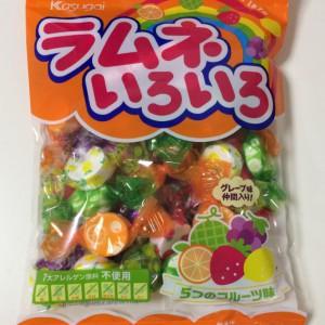 ラムネいろいろ春日井製菓