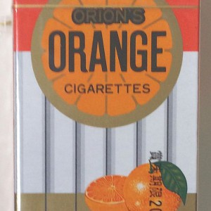 オレンジシガレット