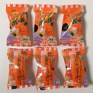 オレンジボールラムネ
