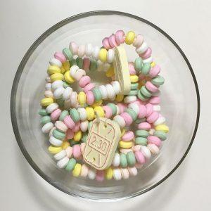 Collier et montre candy